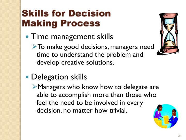 Skills for Decision