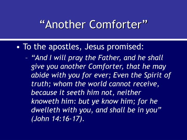 """Another Comforter"""