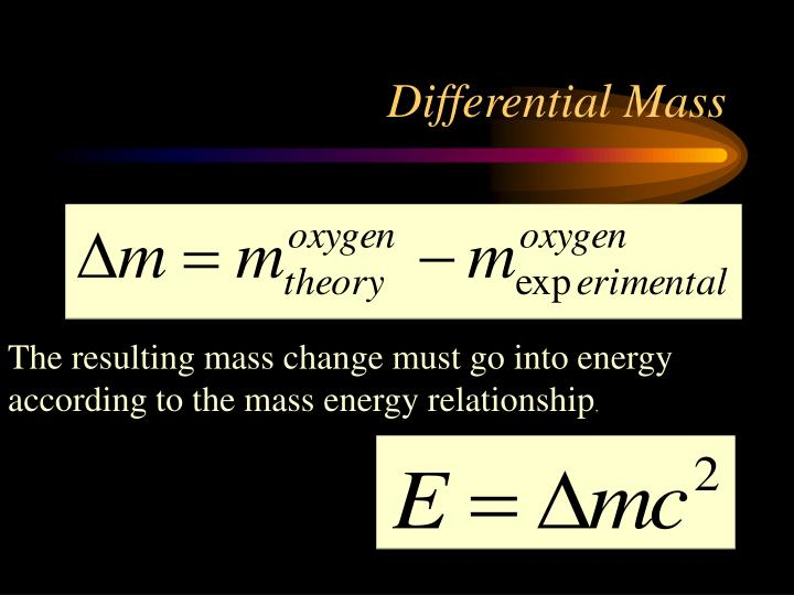 Differential Mass