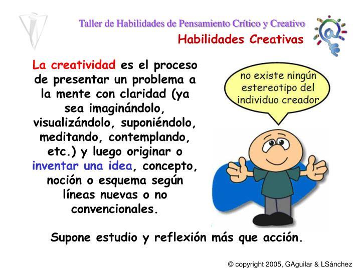 La creatividad