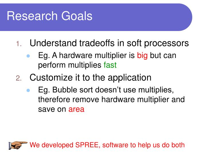 We developed SPREE, software to help us do both