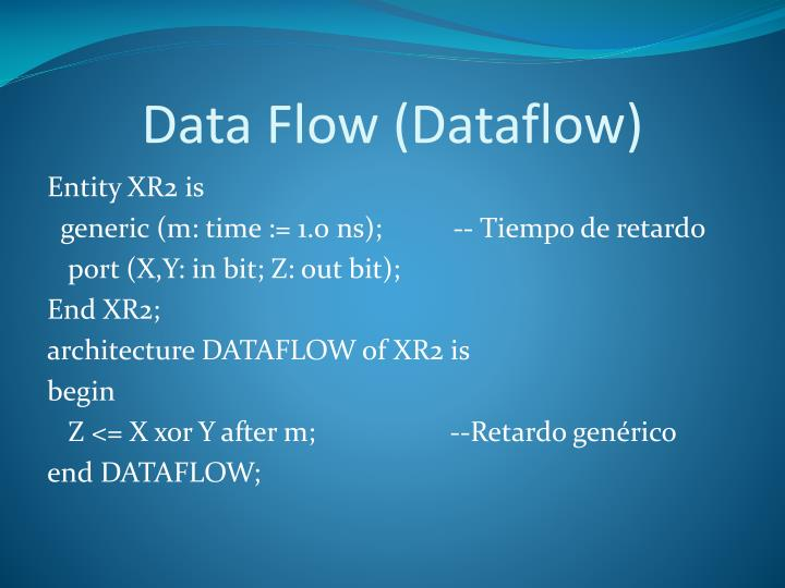 Data Flow (Dataflow)