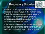 respiratory disorders1