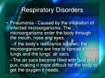 respiratory disorders3