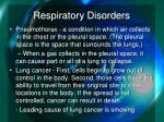 respiratory disorders4