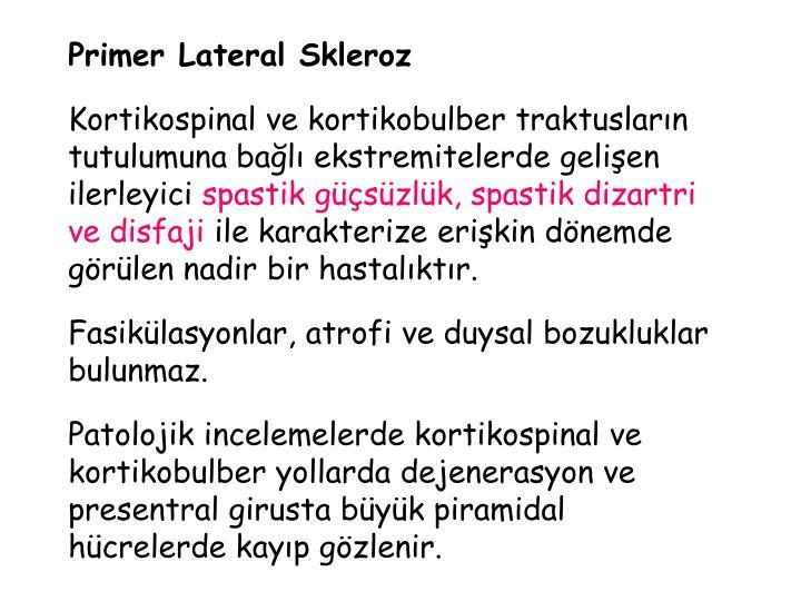 Primer Lateral Skleroz