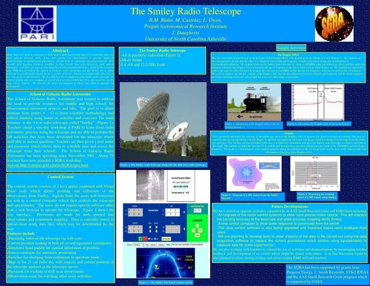 The Smiley Radio Telescope