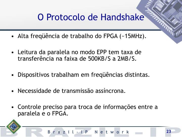 O Protocolo de Handshake