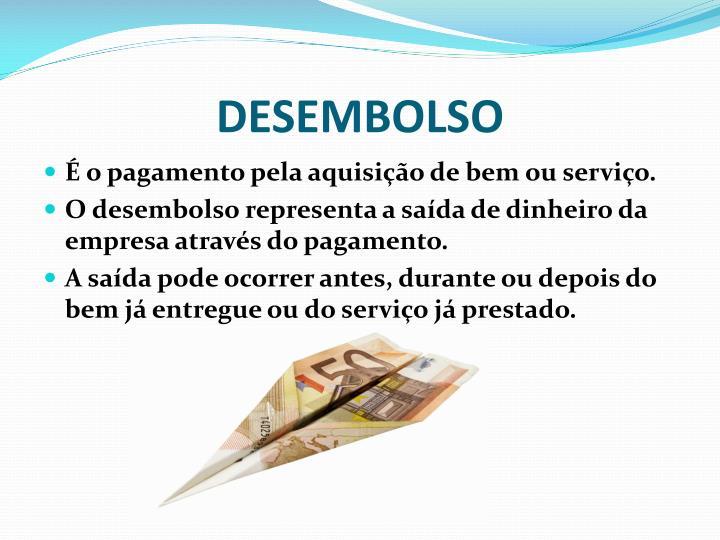 DESEMBOLSO