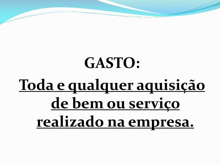 GASTO: