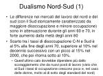 dualismo nord sud 1