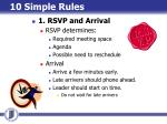 10 simple rules