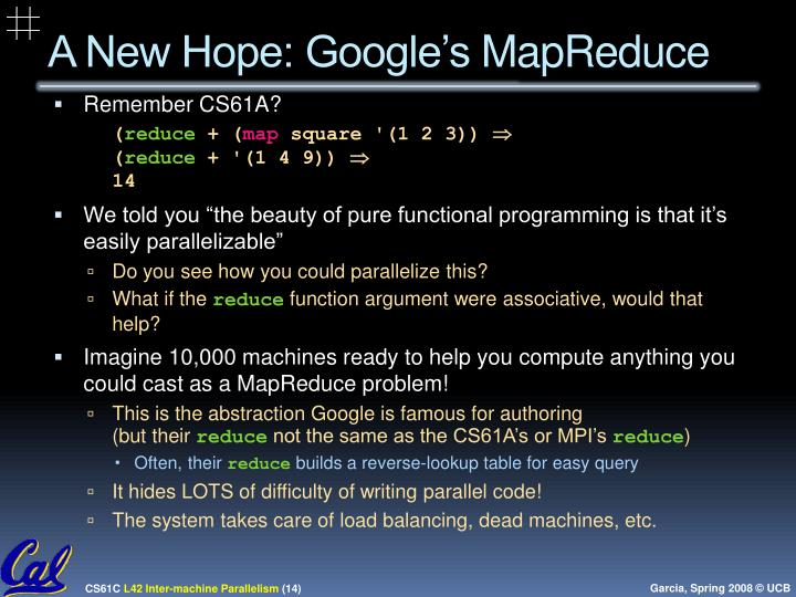 A New Hope: Google's