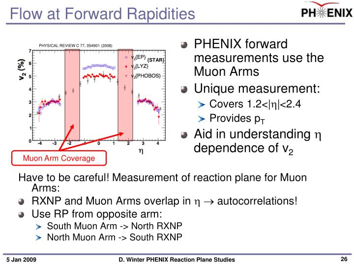 Flow at Forward Rapidities