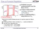 flow at forward rapidities