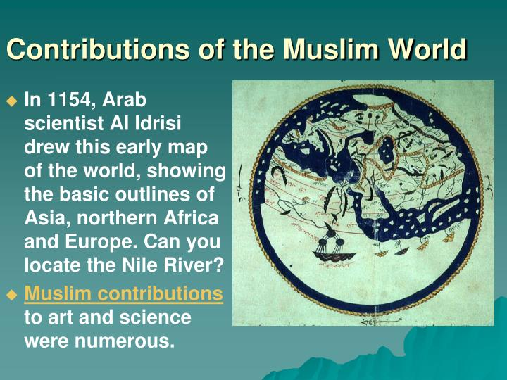 Contributions of the Muslim World