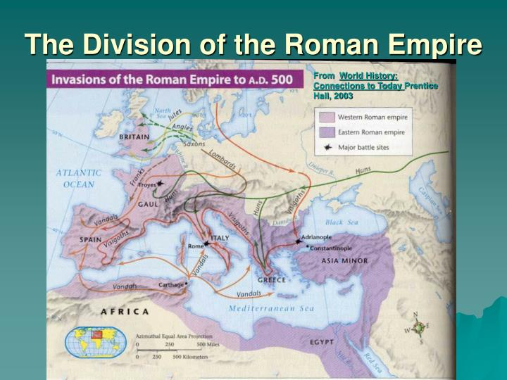 The division of the roman empire1