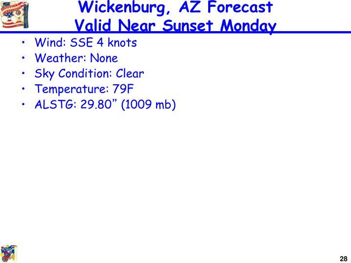 Wickenburg, AZ Forecast
