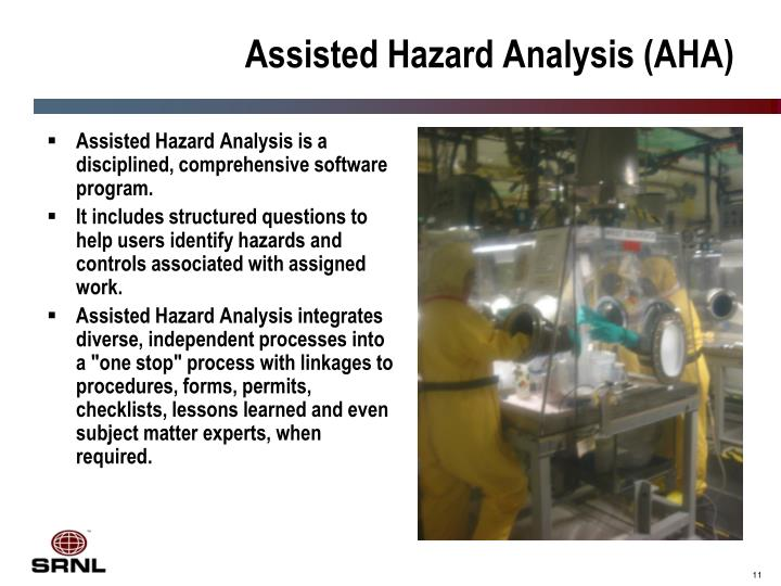 Assisted Hazard Analysis (AHA)