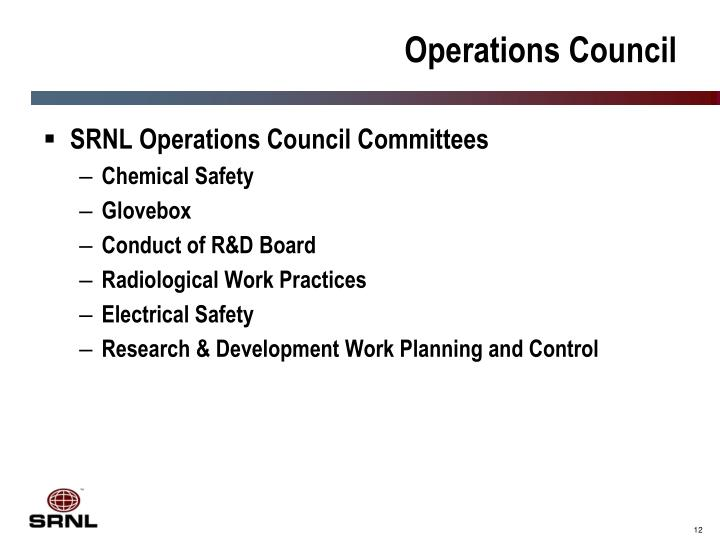 Operations Council