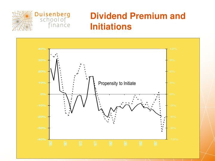Dividend Premium and
