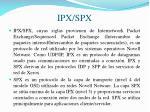 ipx spx