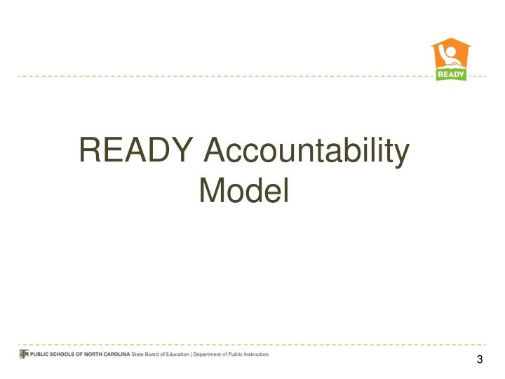 READY Accountability Model