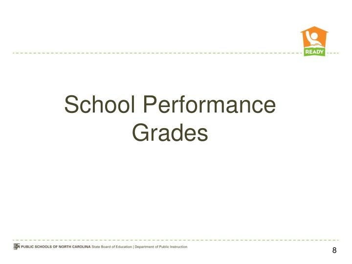 School Performance Grades