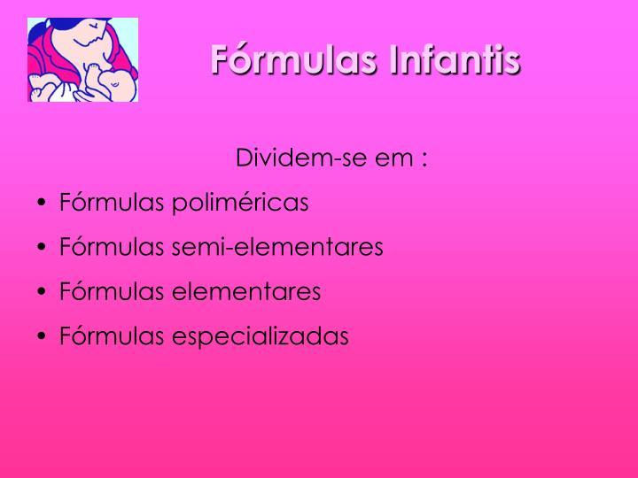 Fórmulas Infantis