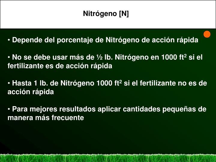 Nitrógeno