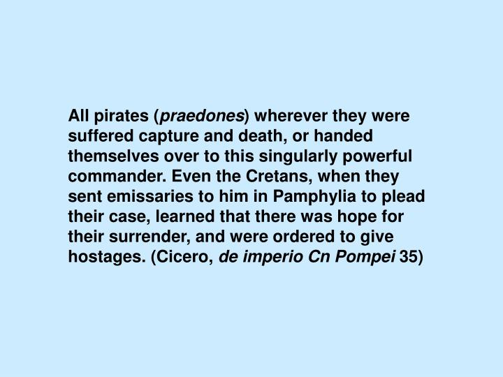 All pirates (