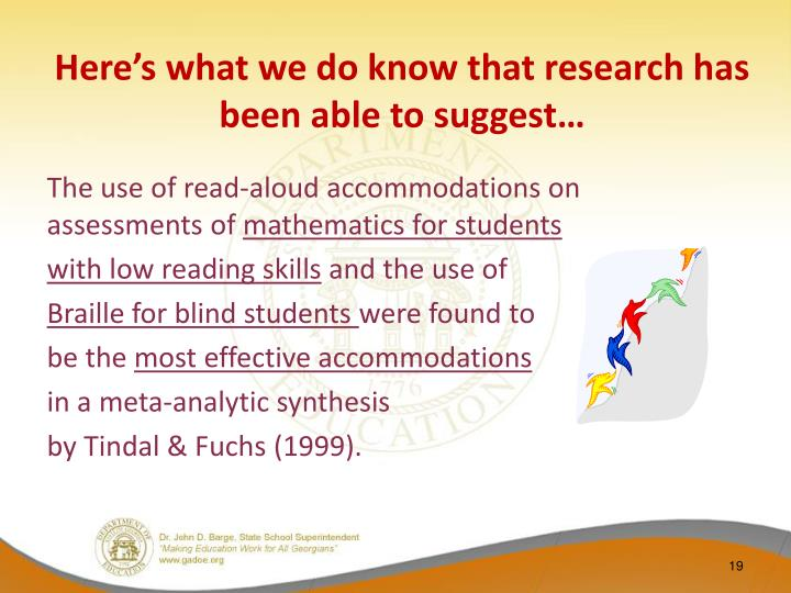Here's what we do know that research has been able to suggest…