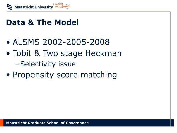 Data & The Model