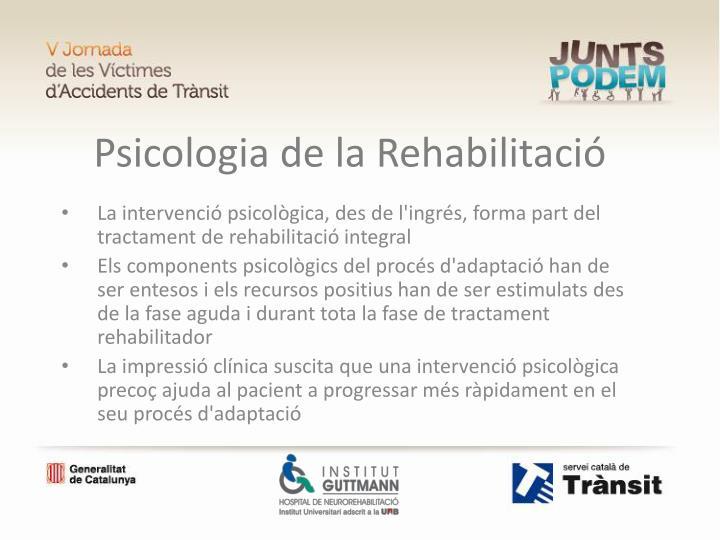 Psicologia de la Rehabilitació