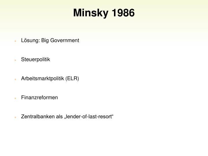 Minsky 1986