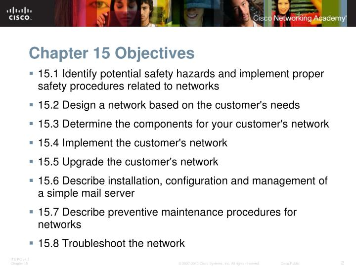Chapter 15 Objectives