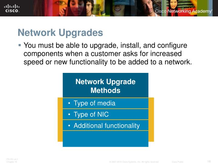 Network Upgrades