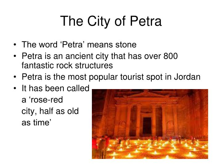 The City of Petra