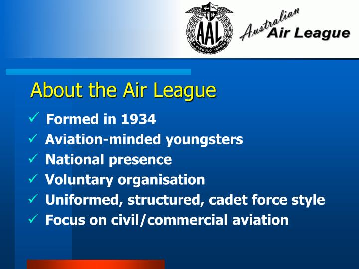 About the Air League