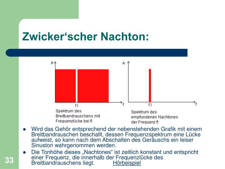 Zwicker'scher Nachton: