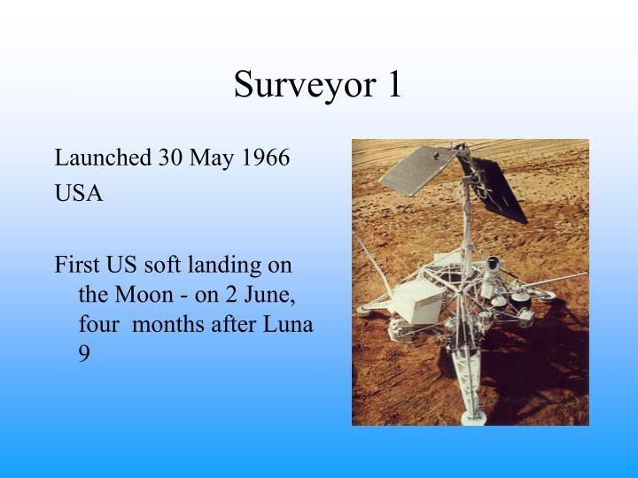 Surveyor 1