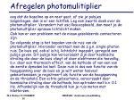 afregelen photomulitiplier1