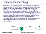 impedance matching1