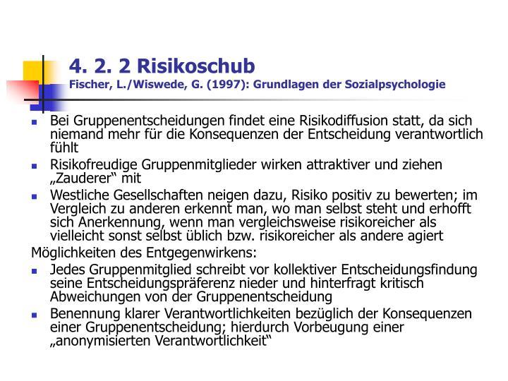4. 2. 2 Risikoschub