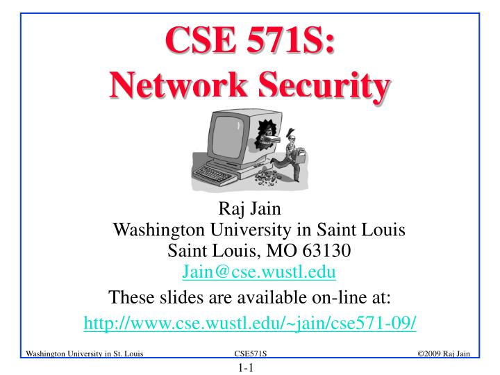 Cse 571s network security