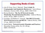 supporting books cont