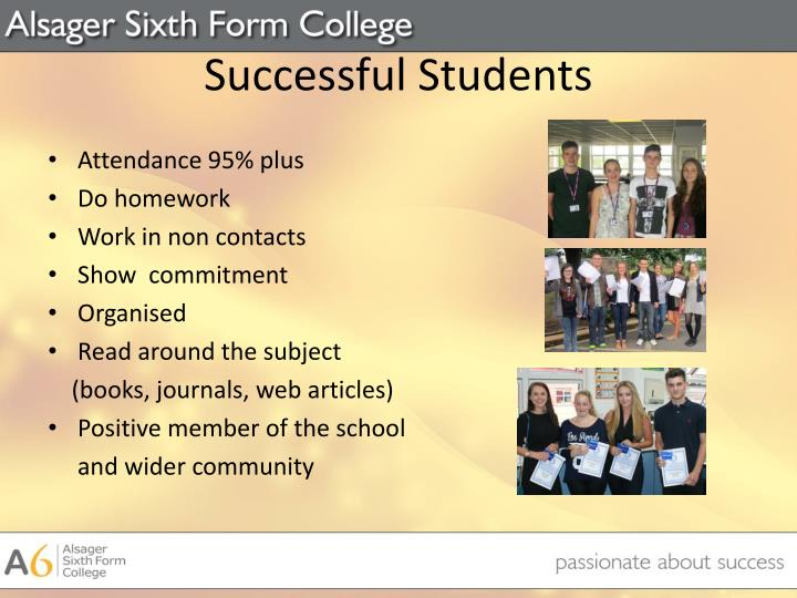 Successful Students