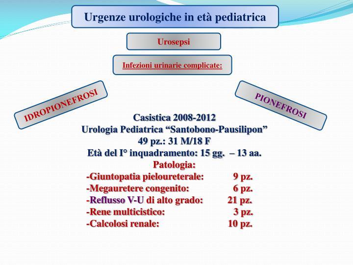 Urgenze urologiche in età pediatrica