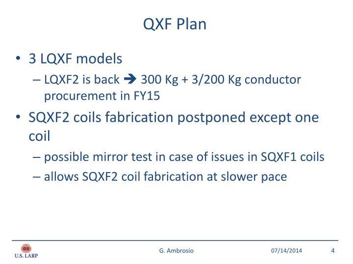 QXF Plan
