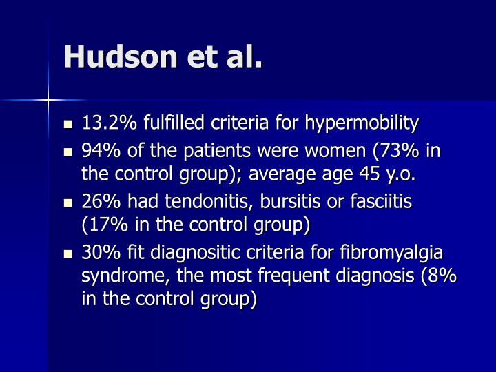 Hudson et al.
